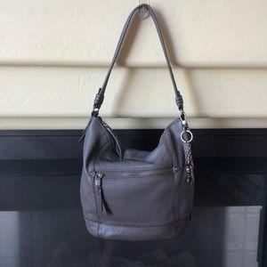 NWOT The Sak Gray Sequoia Hobo Shoulder Bag